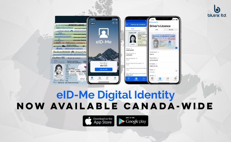 Digital identity mobile app