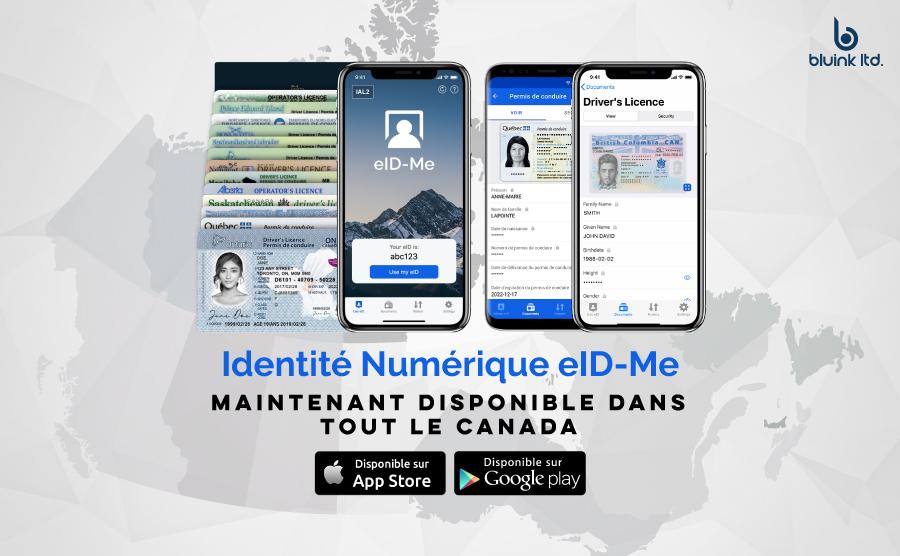 Application mobile d'identité numérique