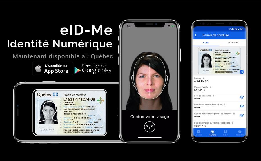 eID-Me now available in Quebec, eID-Me maintenant disponible au Quebec